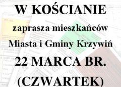 """,,Skarbówka"""" w Krzywiniu"""