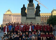 KP Obra 1912 Kościan oraz UKS Czwórka Kościan na turnieju Strahov Cup w Pradze