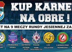 Ruszyła sprzedaż karnetów na mecze Obry Kościan w sezonie 2018/2019