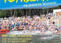 Zawody Pływackie na Jeziorze Wonieść
