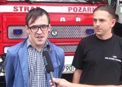 Druhowie Ochotniczej Straży Pożarnej w Wilkowie Polskim zbierają na AED