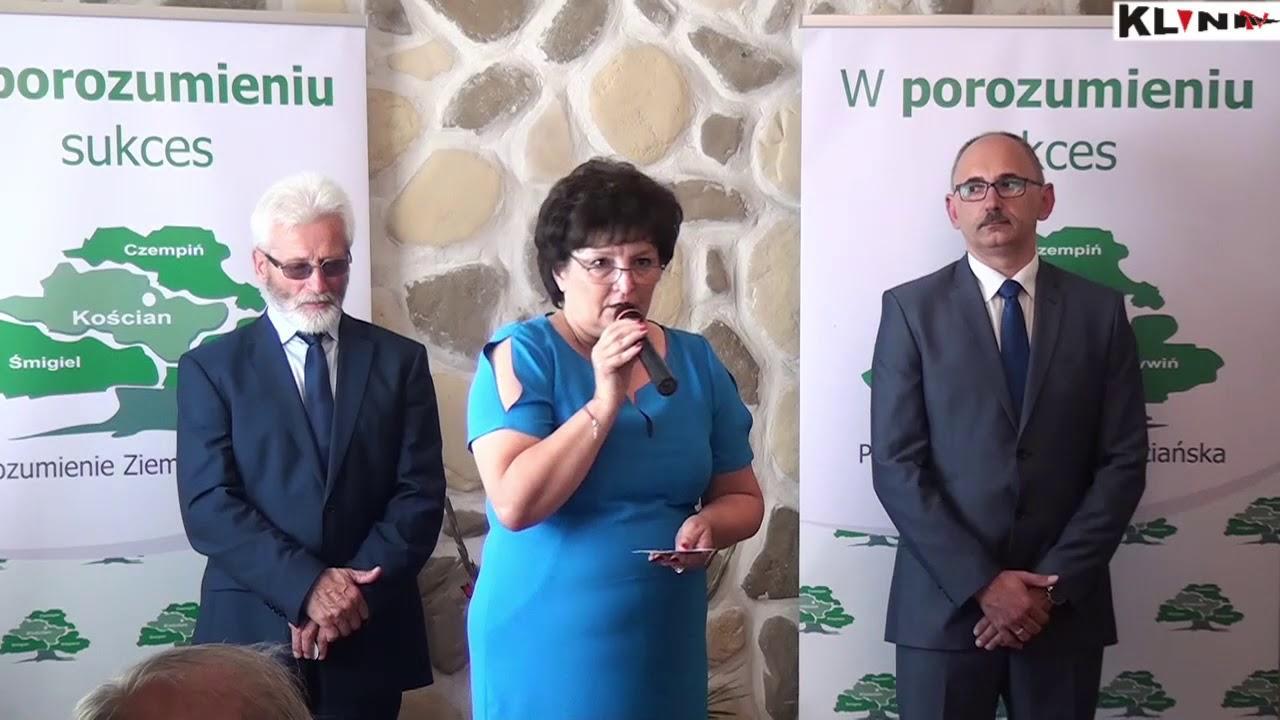 Kandydatem na burmistrza Czempinia z ramienia PZK został Jerzy Krzyżostaniak – video relacja z briefingu