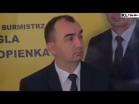 Retransmisja konferencji prasowej kandydata na Burmistrza Śmigla Karola Kopienki