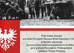Uhonorowanie pamięci Powstańców Wielkopolskich w Nowym Luboszu
