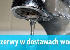 Wyłączenie dopływu wody do nieruchomości w Nowym Luboszu i Starym Luboszu
