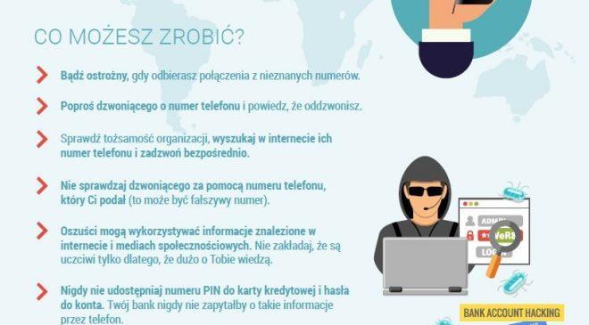 Przejmij kontrolę nad swoim cyfrowym życiem. Nie bądź ofiarą cyber oszustw!