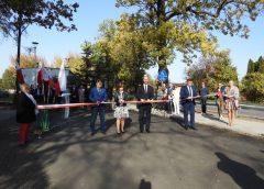 Oddanie do użytku ulicy Wybickiego oraz drogi w Nowym Borówku