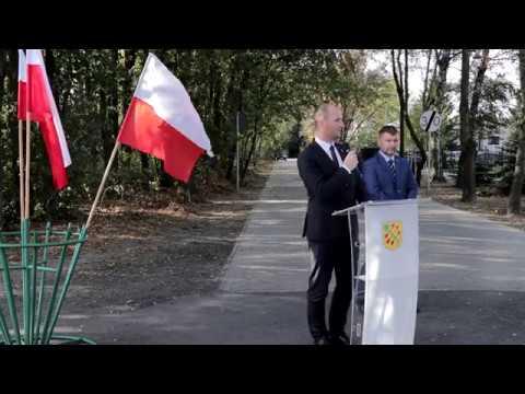 Oddanie do użytku ulicy Wybickiego oraz drogi w Nowym Borówku w Czempiń