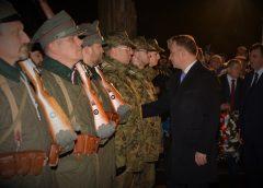 Prezydent RP uczcił skautów i Powstańców Wielkopolskich w Kościanie