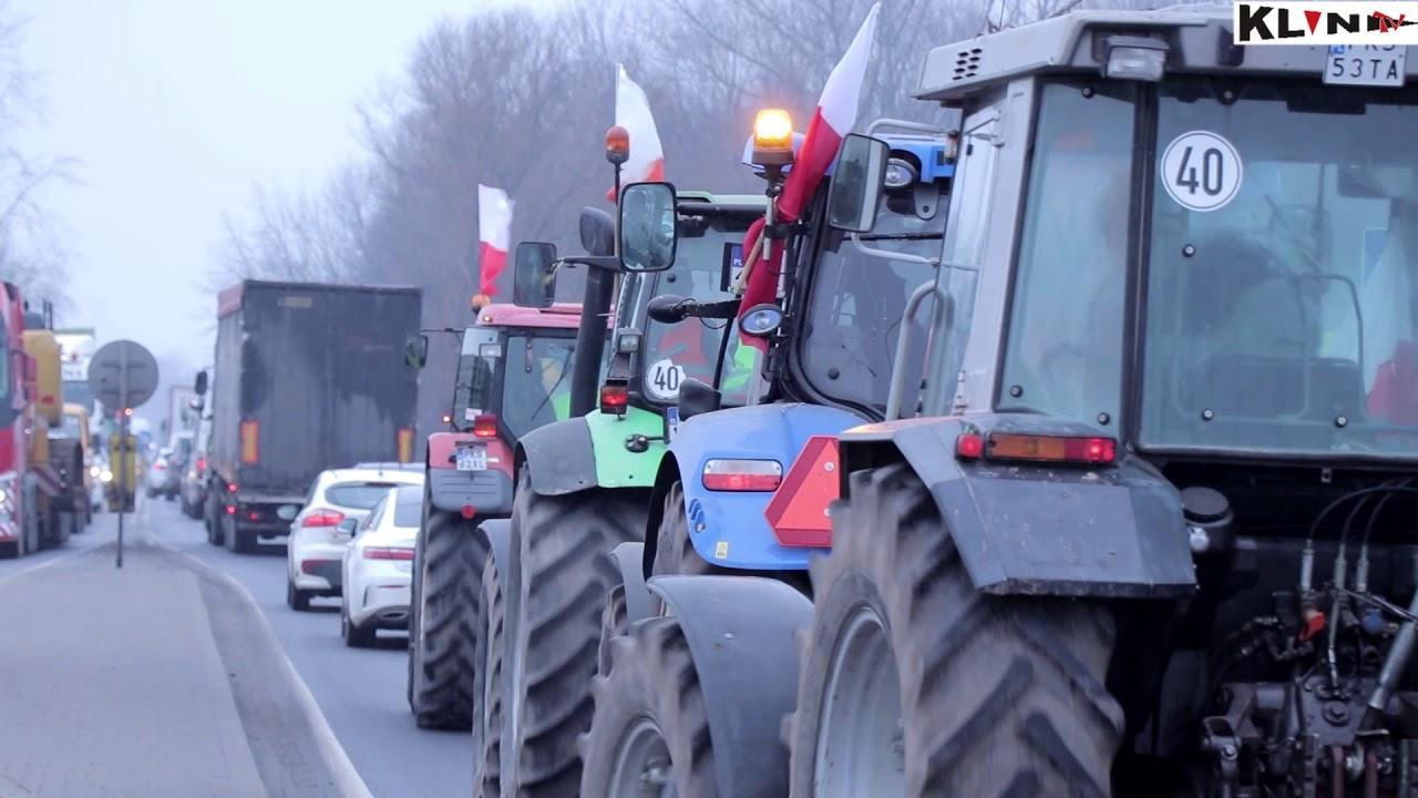 Z cyklu: Bez komentarza – Protest kościańskich rolników!