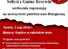Sołtysi zapraszają na 3 Maja!