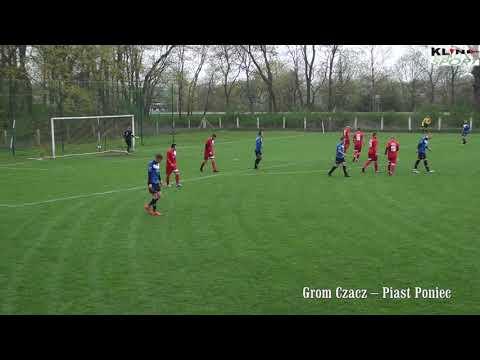 Grom Czacz – Piast Poniec 2 : 1 (2:0) – skrót z meczu