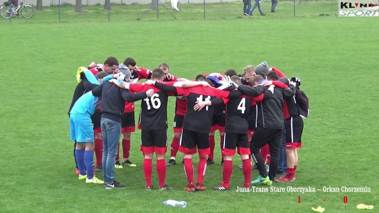 Juna-Trans Stare Oborzyska – Orkan Chorzemin 1:0 – skrót meczu