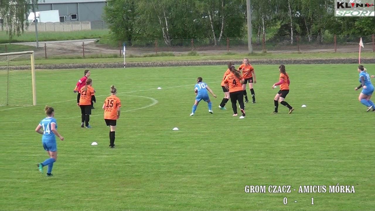 Determinacja piłkarek Gromu – video